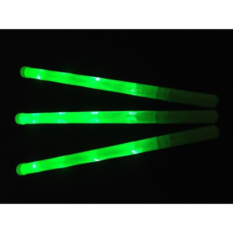 Bâton lumineux vert led unicolore Articles Led