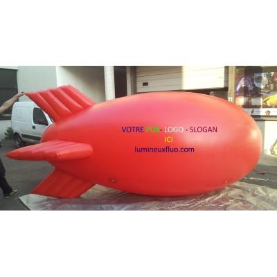 Ballon Zeppelin Publicitaire 4 METRE Accueil