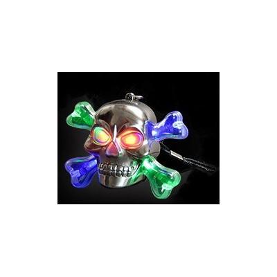 Collier tête de mort lumineux led 3D Articles Led