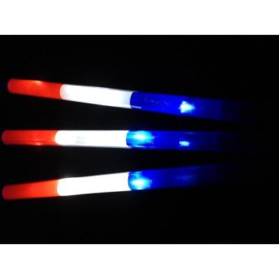 Bâton Tricolore lumineux à led bleu blanc rouge Articles Led