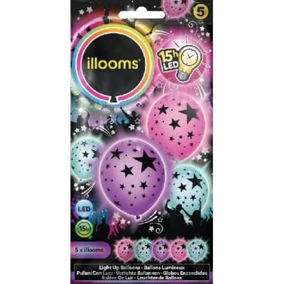 Ballon lumineux étoiles led -illooms Articles Led