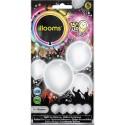 Ballon blanc lumineux - led -illooms