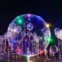 Ballon guirlande lumineux