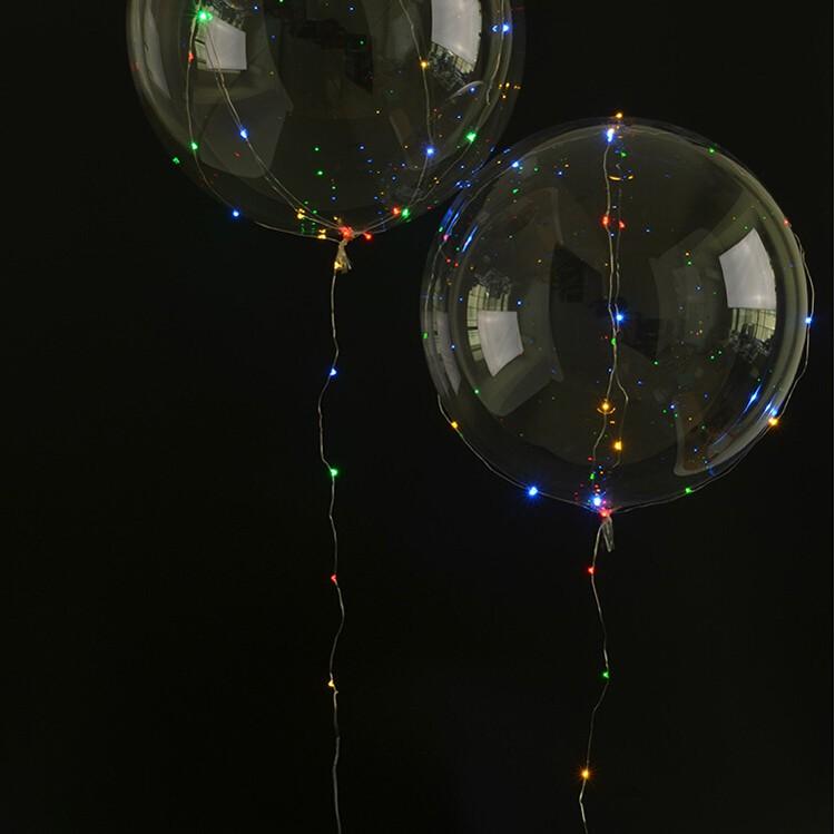 ballon guirlande lumineux. Black Bedroom Furniture Sets. Home Design Ideas