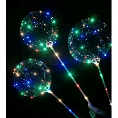 Ballon guirlande lumineux avec bâton lumineux led Articles Led