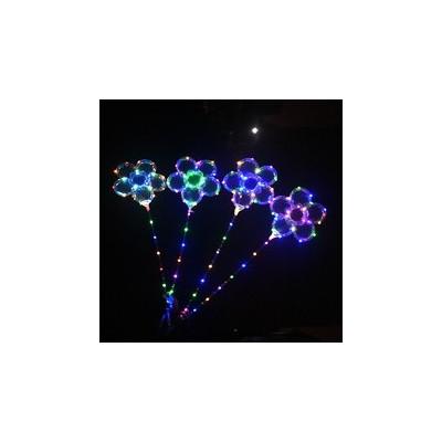 Ballon guirlande lumineux fleur avec bâton lumineux led Articles Led
