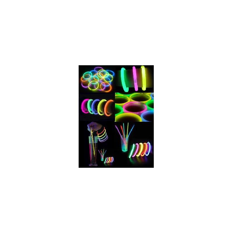 Bracelets Fluo 100 pièces Produits Fluo