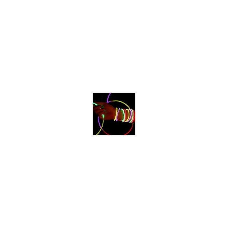 collier Fluo uni 50 pièces Produits Fluo