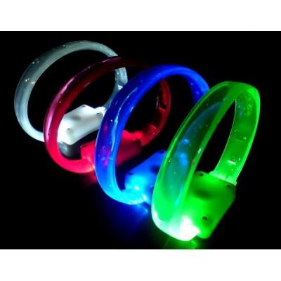 Bracelet lumineux led plat