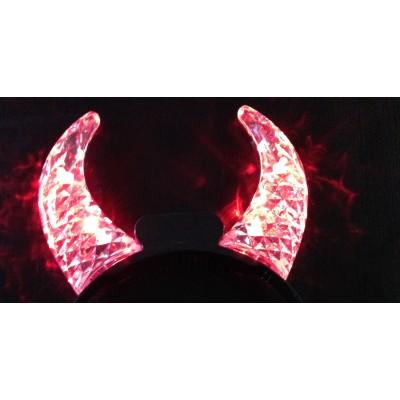 Corne lumineuse cristal rouge Articles Led