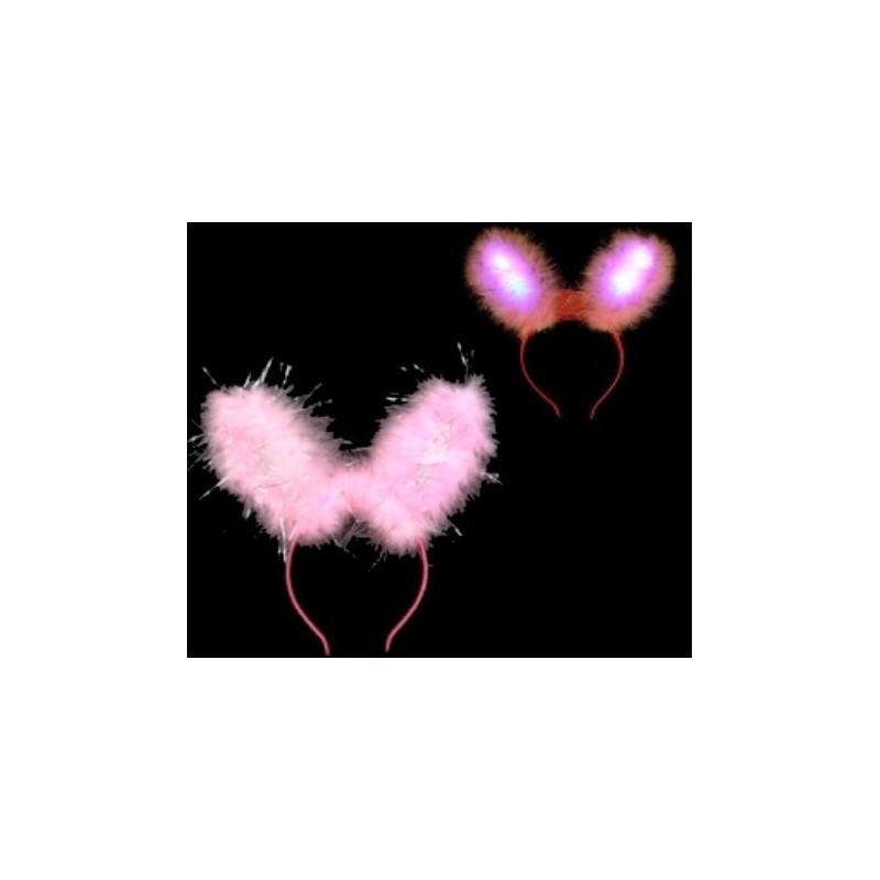 Oreille de lapin lumineuse rose Articles Led