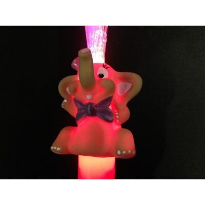 Fibre éléphant lumineux Accueil