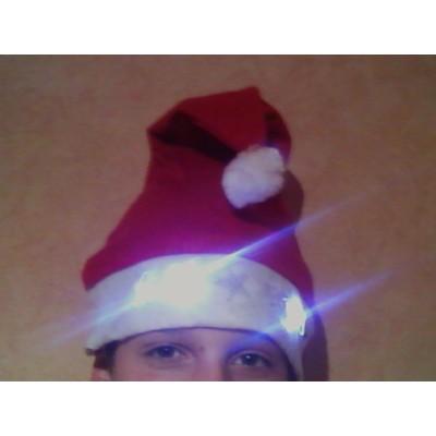 Bonnet de Noël lumineux Articles Noël