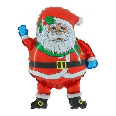 Père Noël ballon hélium