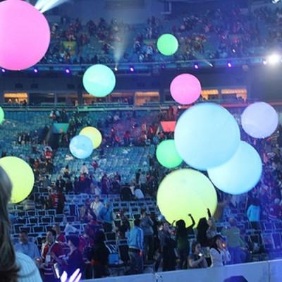 Ballons foule lumineux 1 mètre Accueil