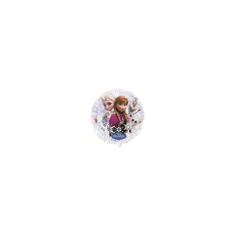 Reine des Neiges ballon rond transparent hélium Ballons Disney Hélium