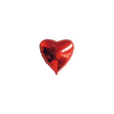Ballon coeur hélium rouge Accueil