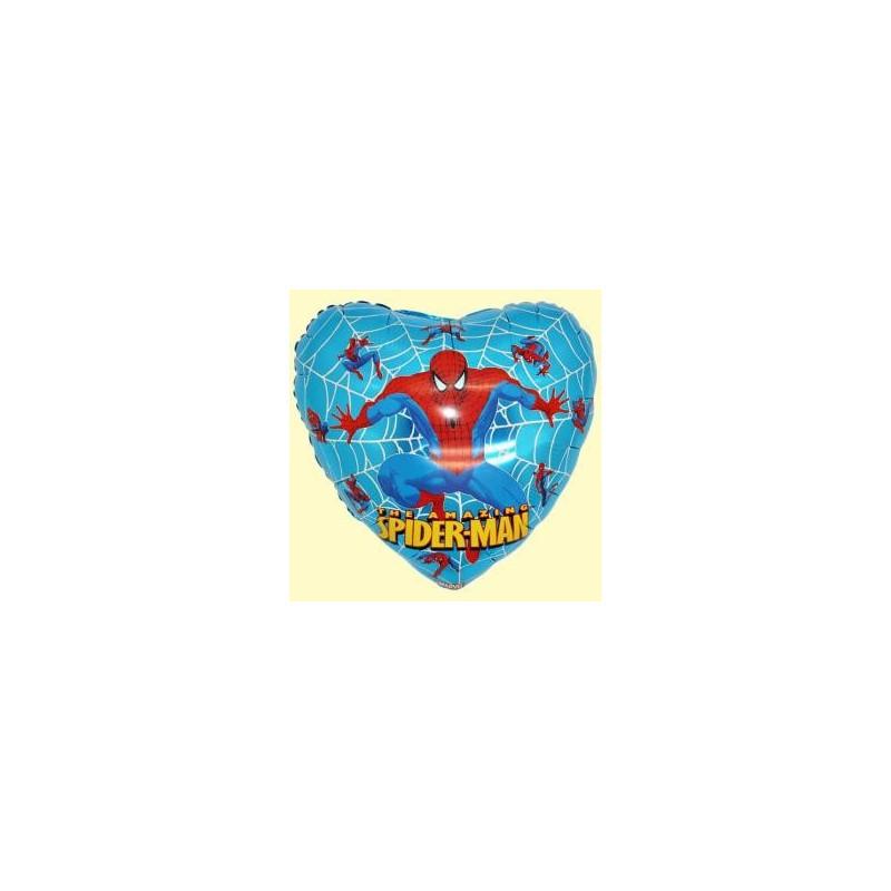 Spiderman ballon coeur hélium Ballons Disney Hélium