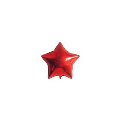 Ballon étoile hélium rouge Accueil