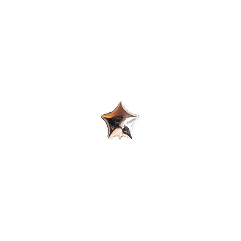 Ballon étoile hélium argenté Accueil