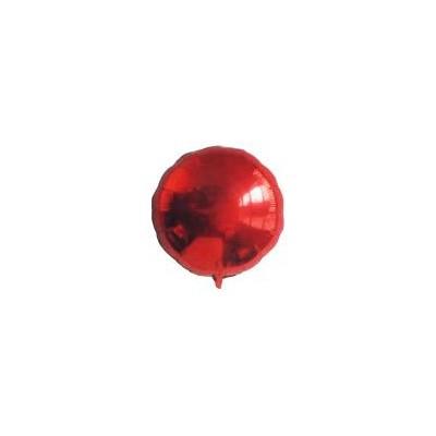 Ballon rond hélium rouge Accueil