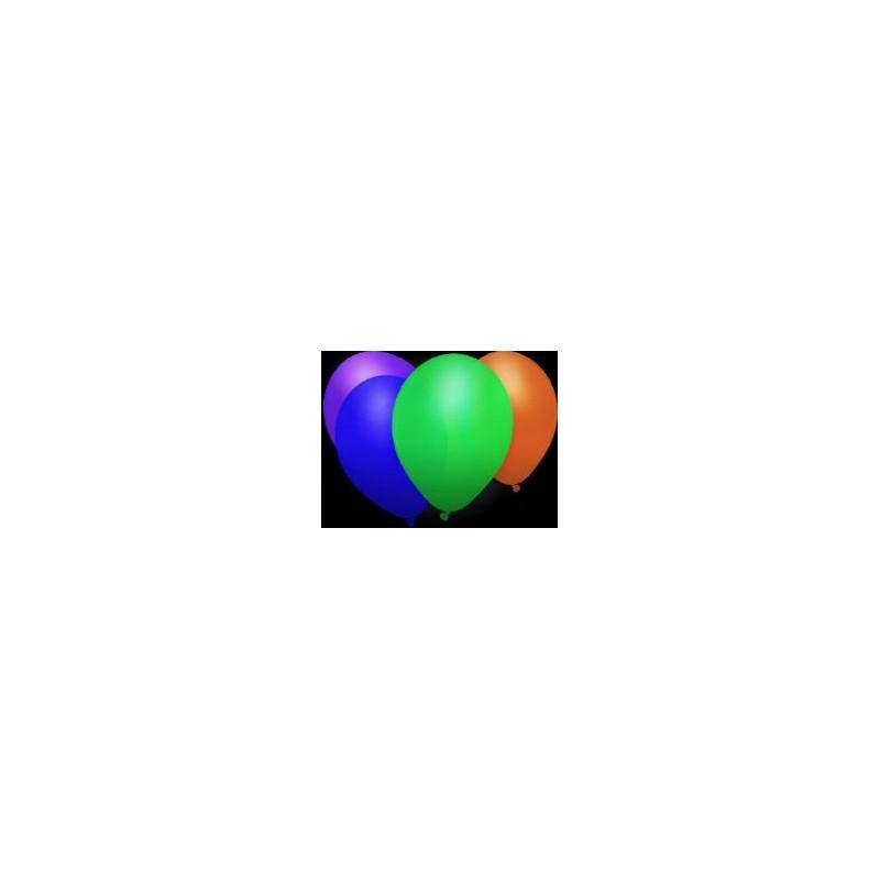 100 Ballons Fluo Accueil