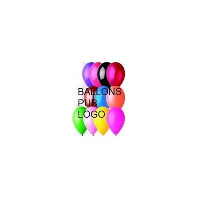 1000 Ballons imprimés 2 faces 1 couleur