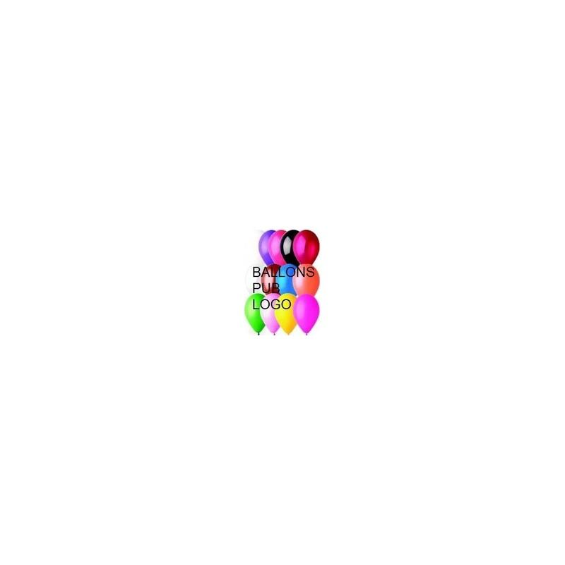 1000 Ballons imprimés 1 face 5 couleurs Accueil
