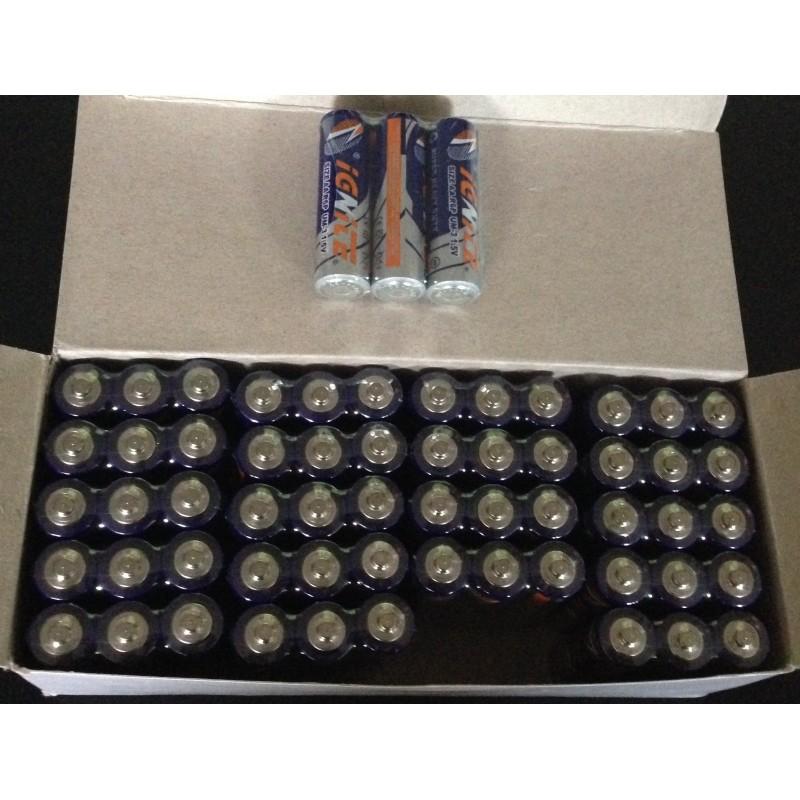 60 Piles alcalines AA 1,5V (LR06) Accueil