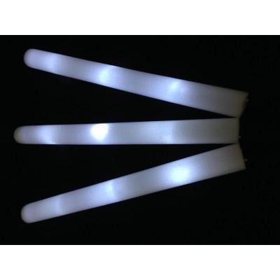 Bâton mousse lumineux leds blanche tap tap lumineux  Articles Led